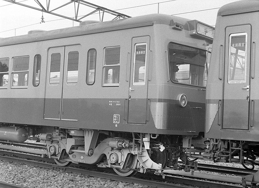 西武鉄道701系(床下機器写真-196...