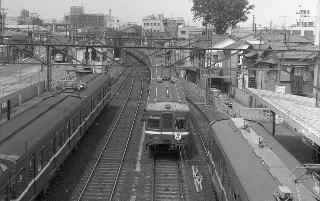 鮫洲駅の地上時代